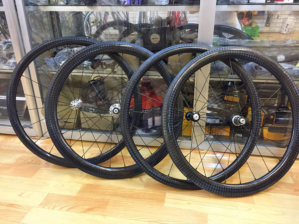 Vành carbon Hand-build (Clincher & Tubular)