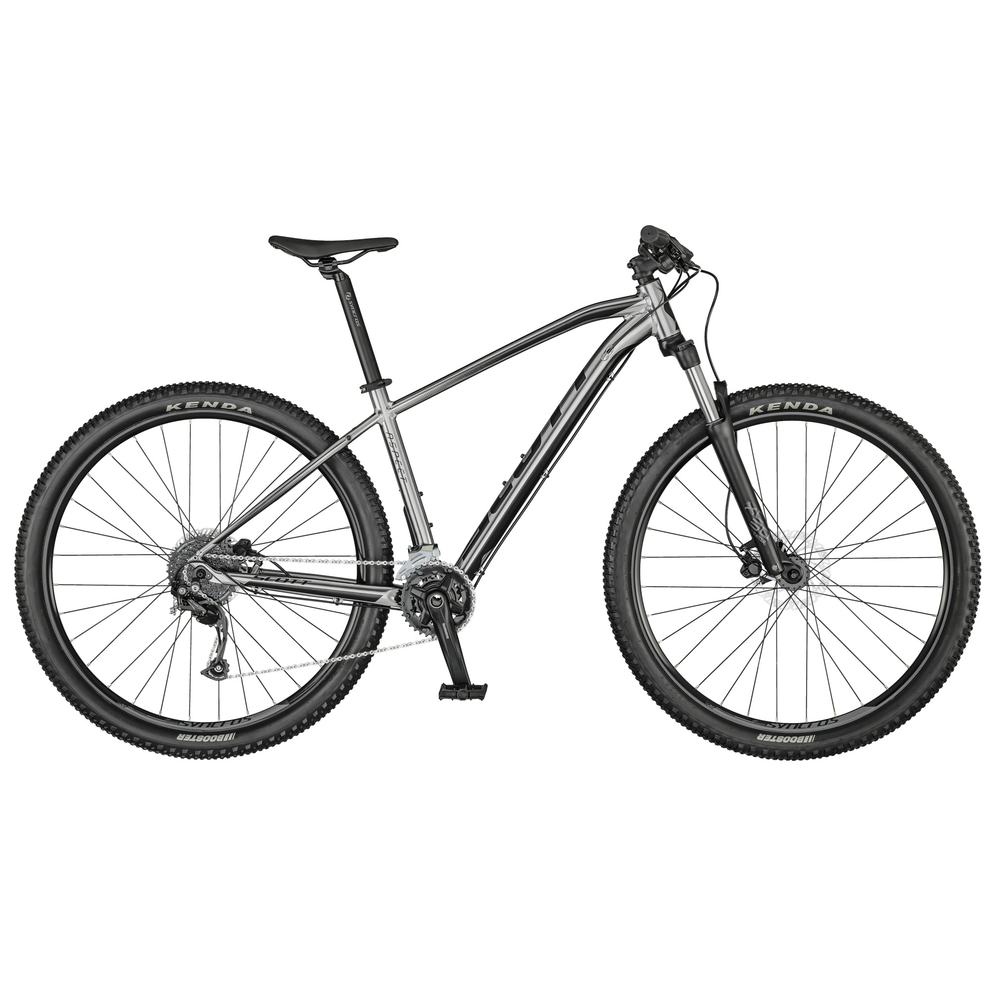 Xe SCOTT ASPECT 750 SLATE GREY BIKE ( 2021)