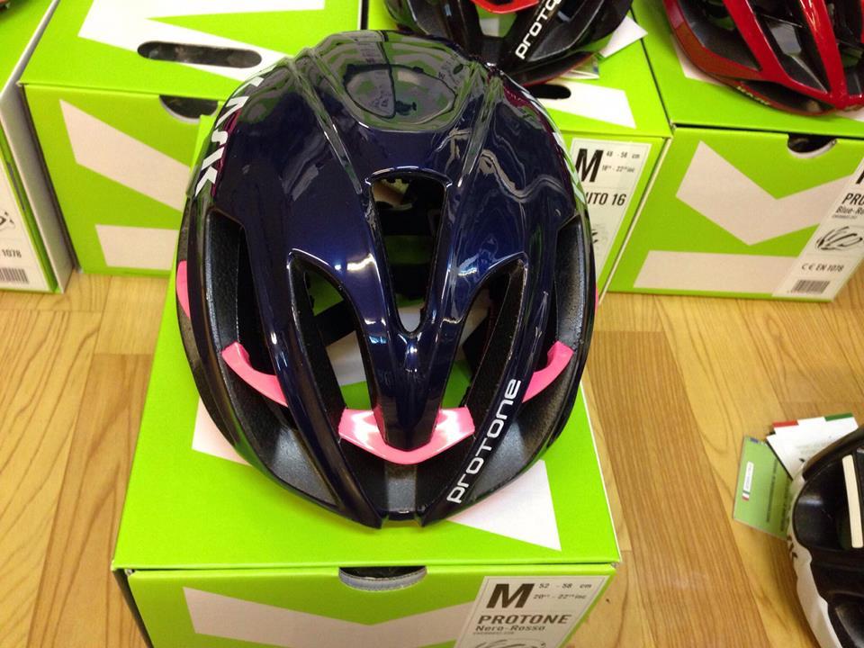 Mũ Kask Protone ( Blue Navy Pink)