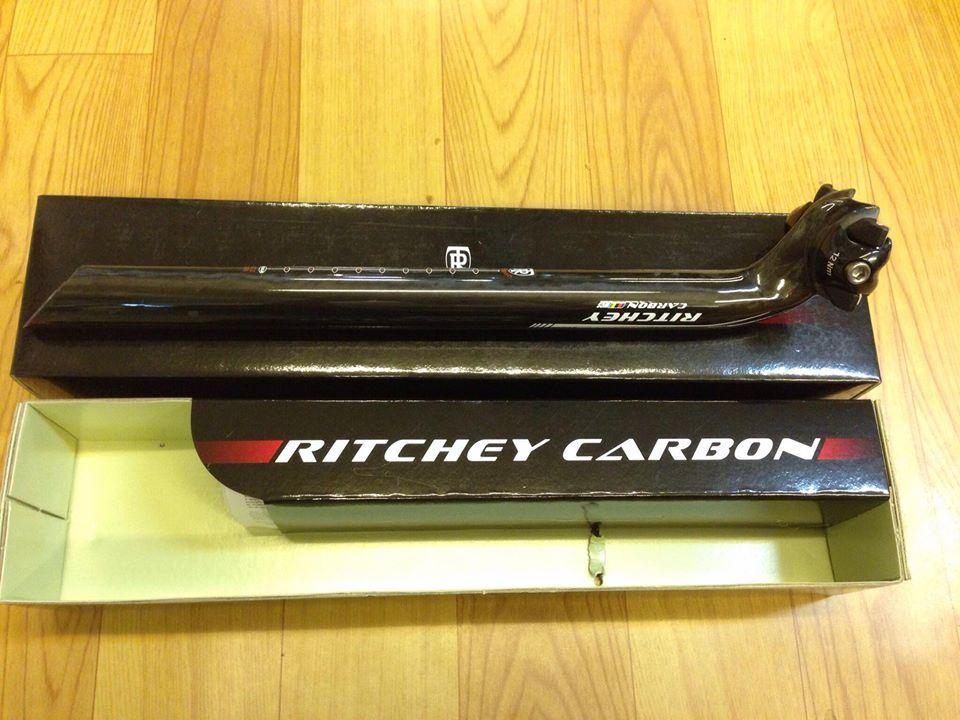 Cọc yên Ritchey carbon 27.2