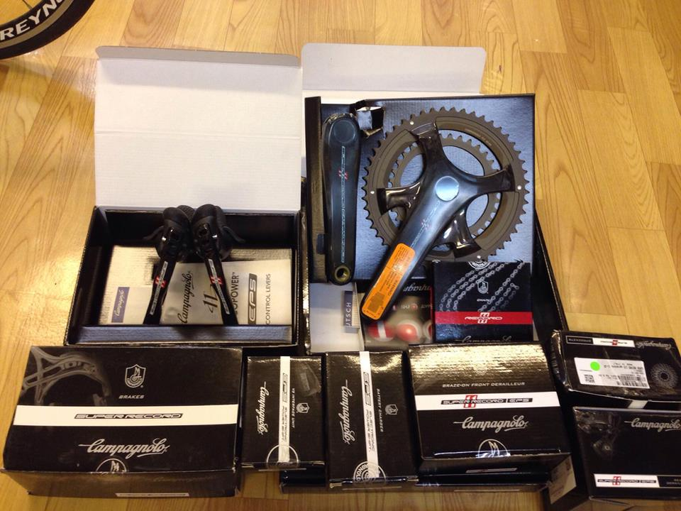 Campagnolo Super Record 11 EPS V3 Groupset