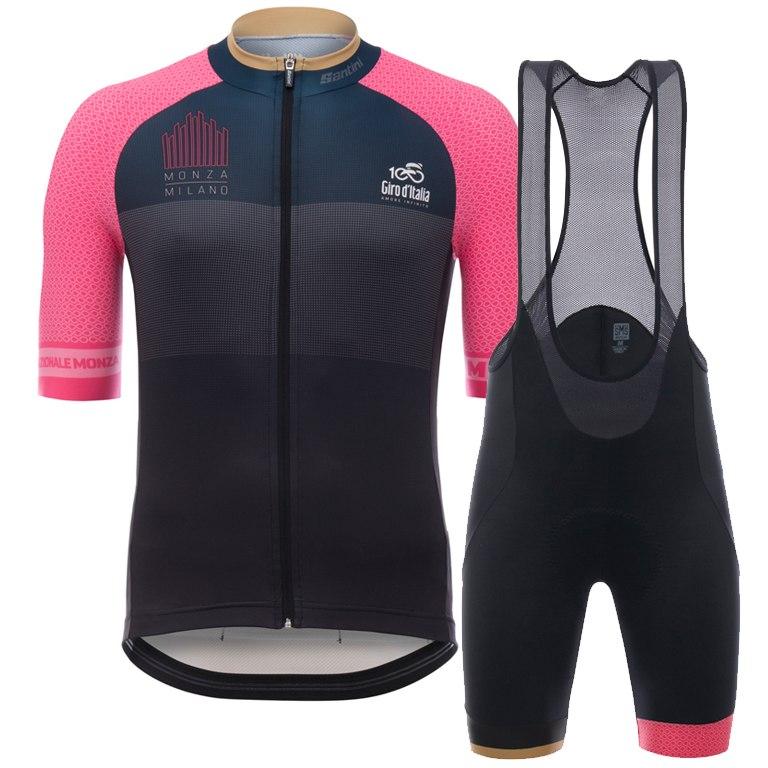 Santini Giro Milan Jersey  Bibshort