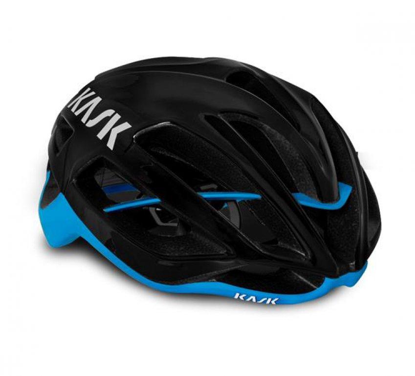 Mũ Kask Protone ( Black/Blue)