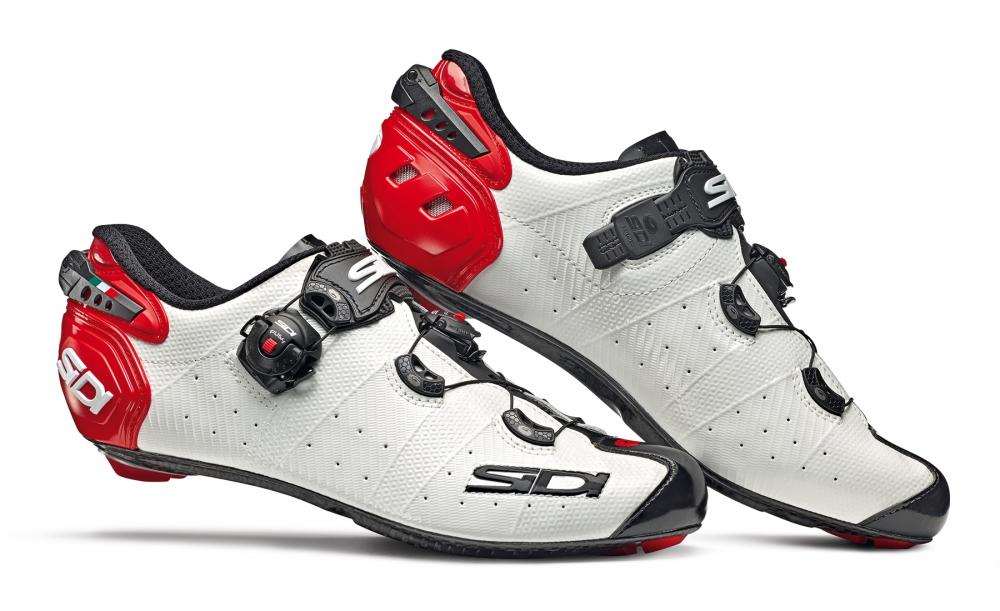 Giầy Sidi Wire 2 ( Black/white/red)