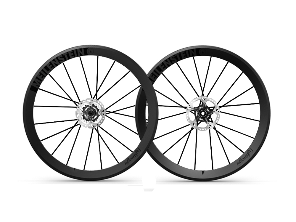 Vành Lightweight Meilenstein 24 Disc Tubular