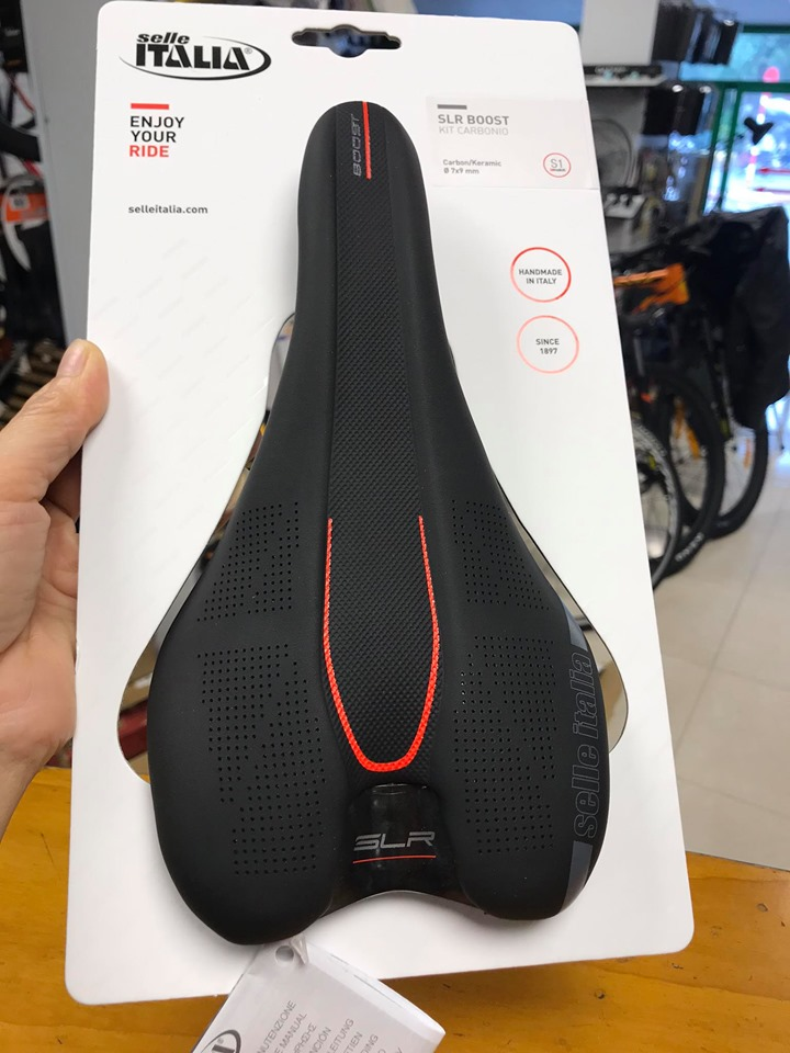 Yên Selle SLR BOOST KIT CARBONIO S1