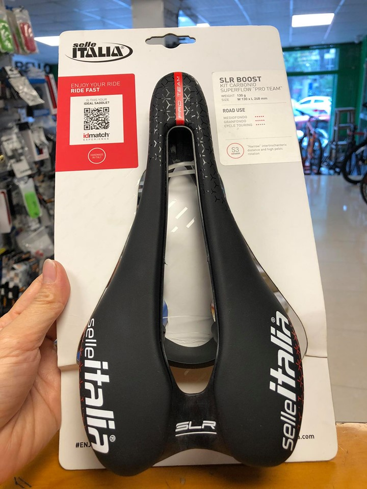 Yên Selle SLR Boost Pro Team Carbonio Superlow