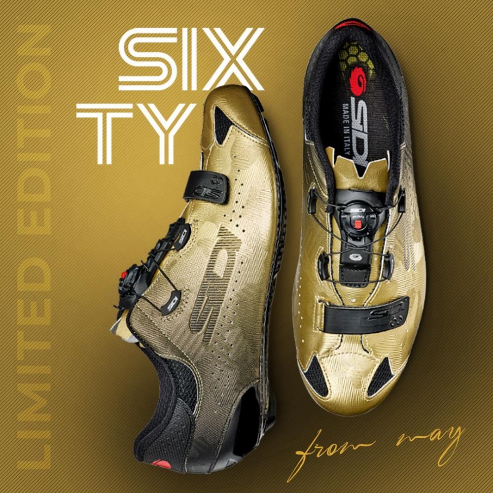 Giày Road Sidi Sixty ( Gold)