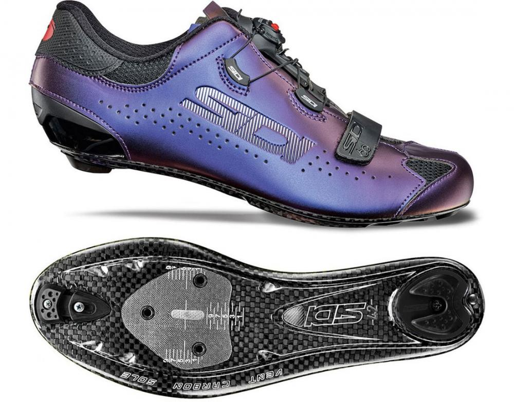 Giày Road Sidi Sixty ( Blue red Iridescent)