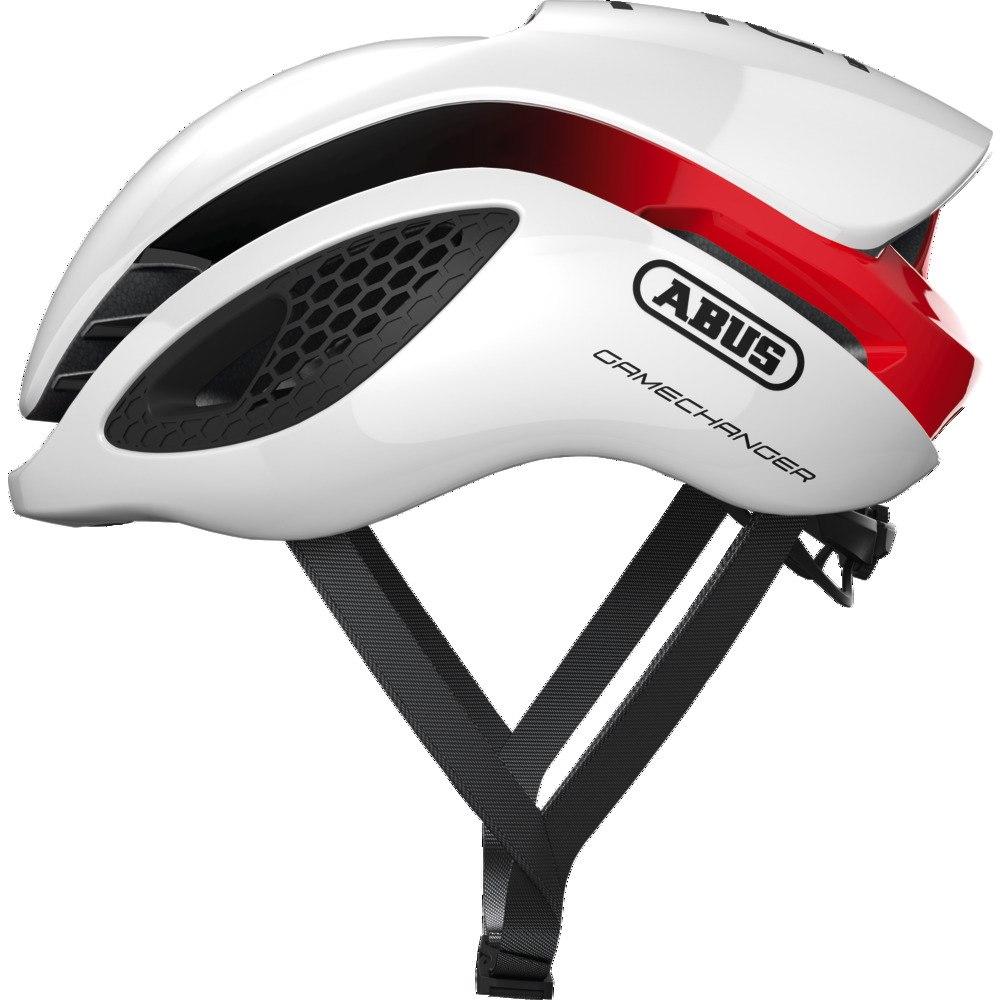 Mũ Abus Gamechanger white red