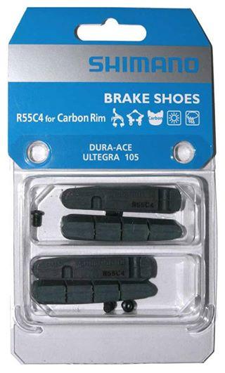 Má phanh Shimano R55C4 ( Carbon Rim)