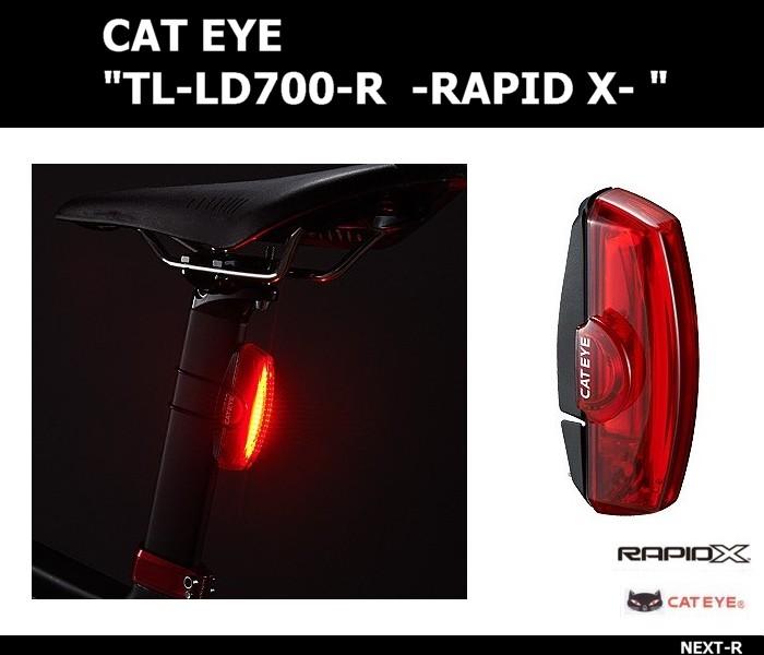Đèn hậu Cateye Rapid X ( Xạc USB)