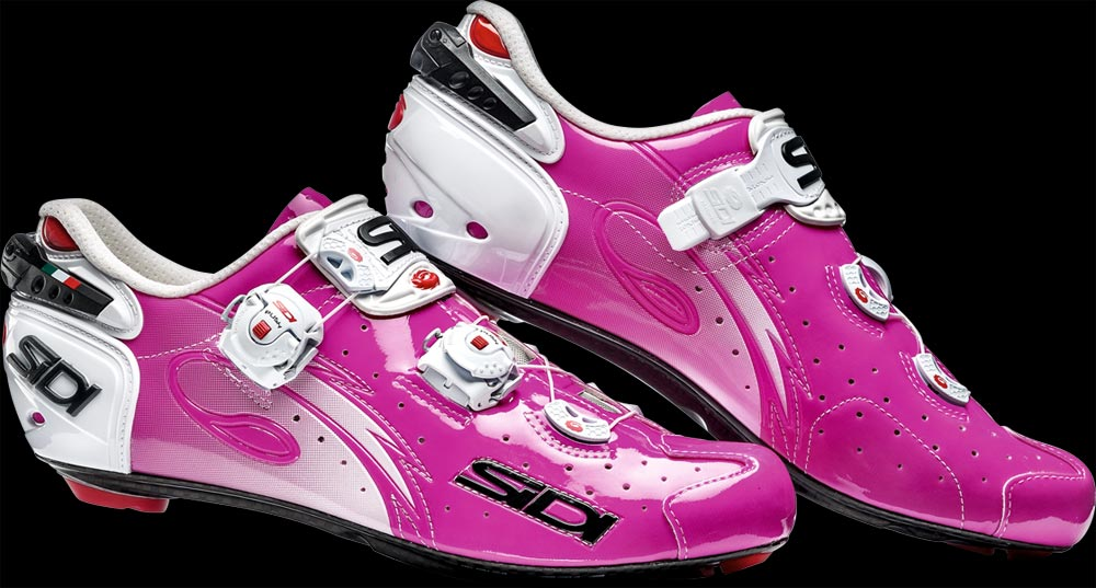 Giầy Road Sidi Wire Carbon - Fuxia