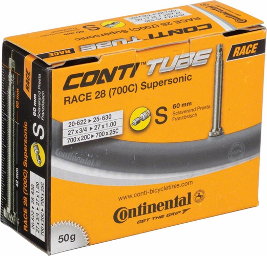 Săm continental Race 28 Supersonic 700x20/25c