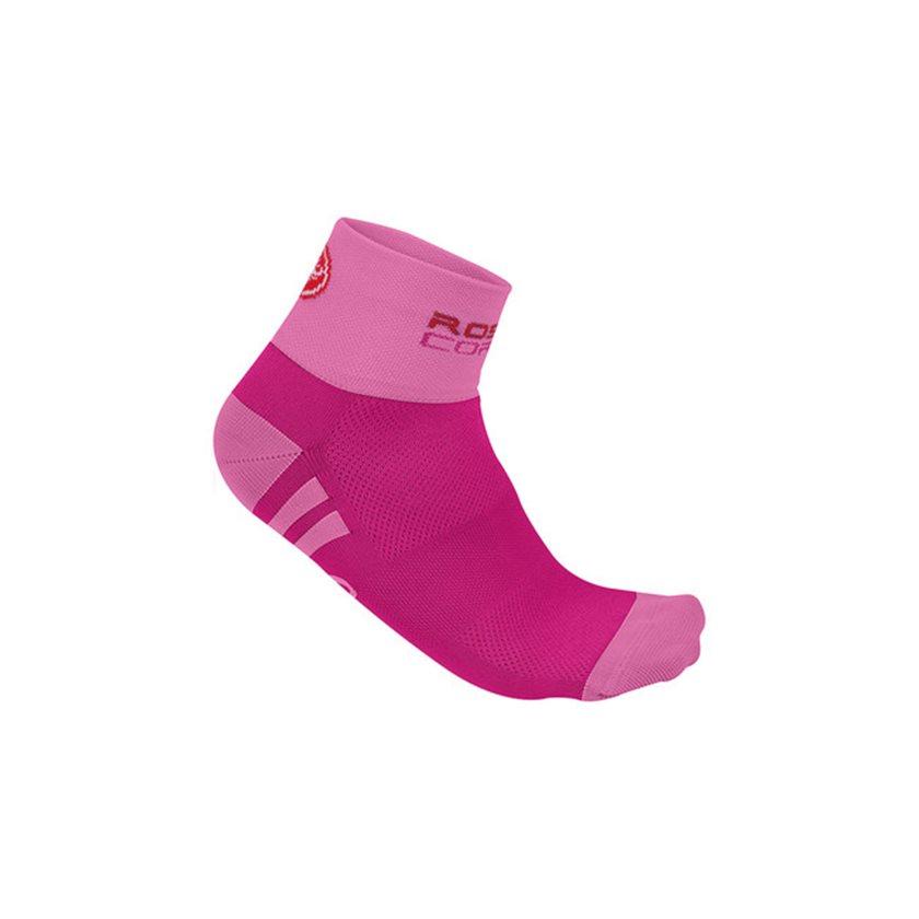 Tất Castelli Rosa Corsa Socks