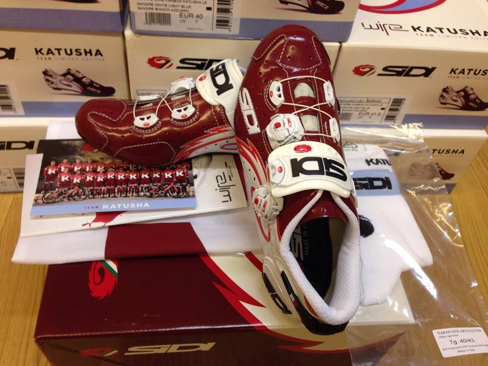 Giầy Sidi Wire Carbon -Katusha Team Limited Edition
