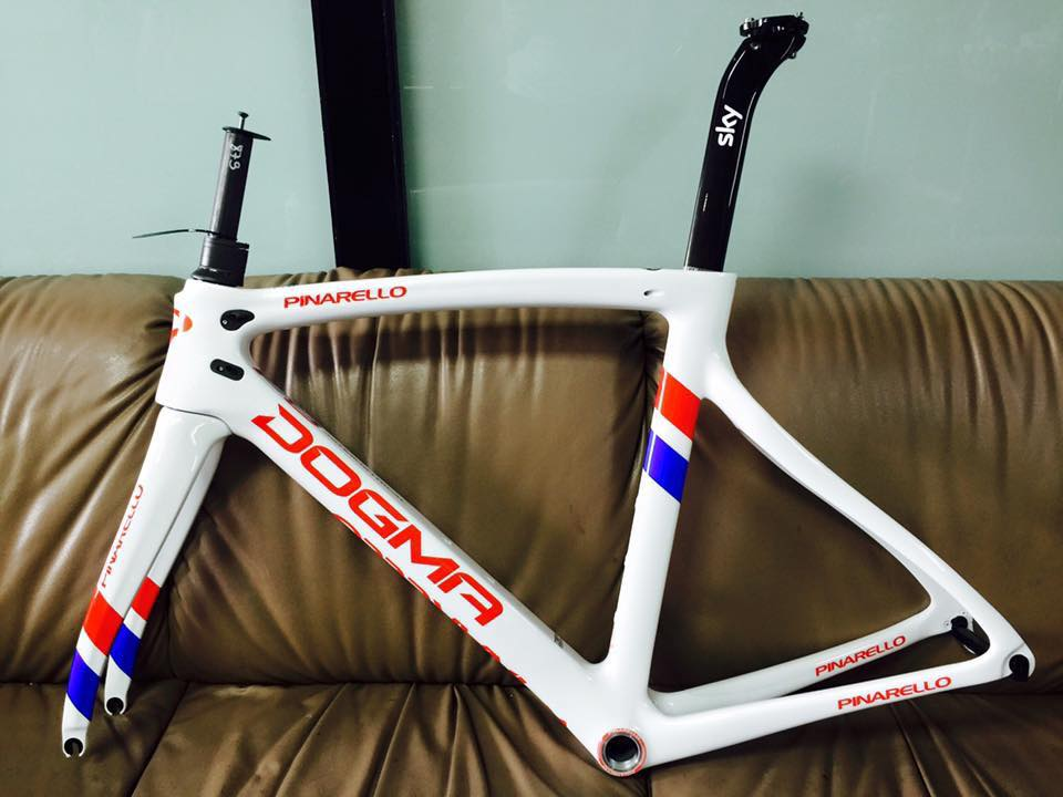Pinarello Dogma F8 Frame (Peter Kennaugh's Sky)