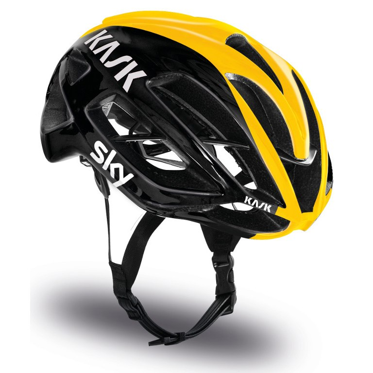 Mũ Kask Protone Team Sky ( Black/ Yellow)