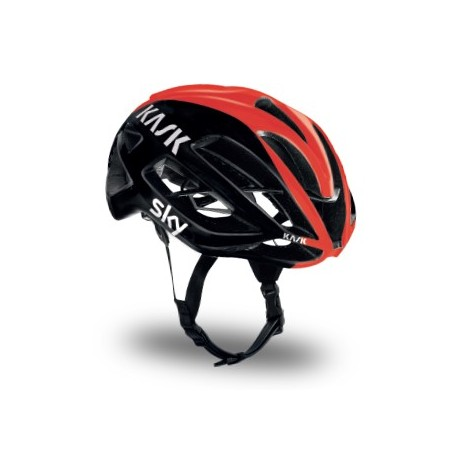 Mũ Kask Protone Team Sky ( Black/ Red)