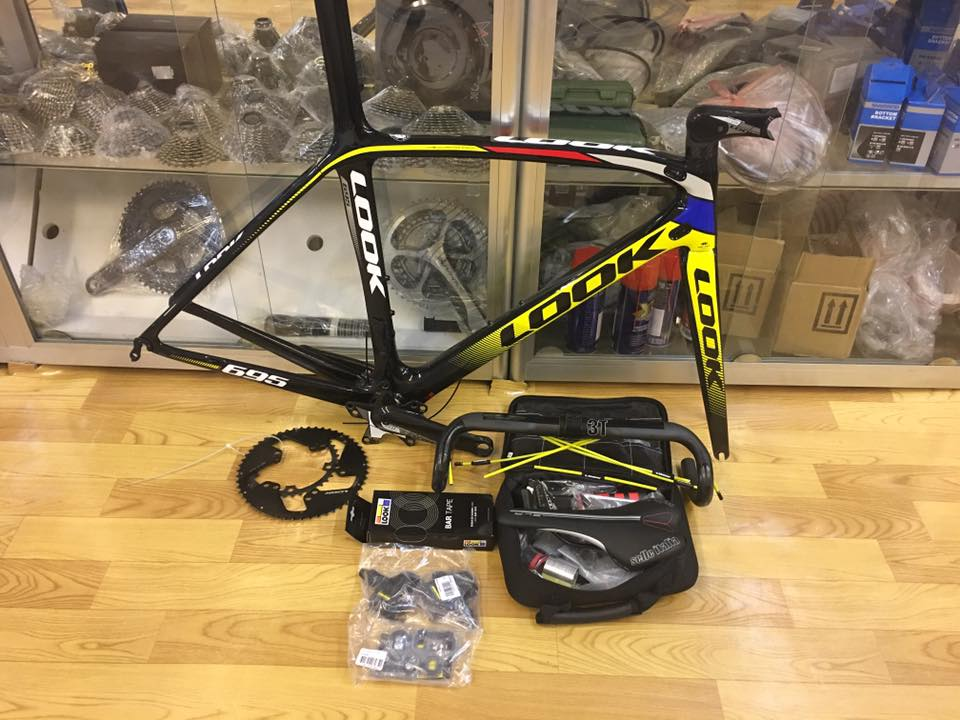 Look 695 Light Proteam Frameset