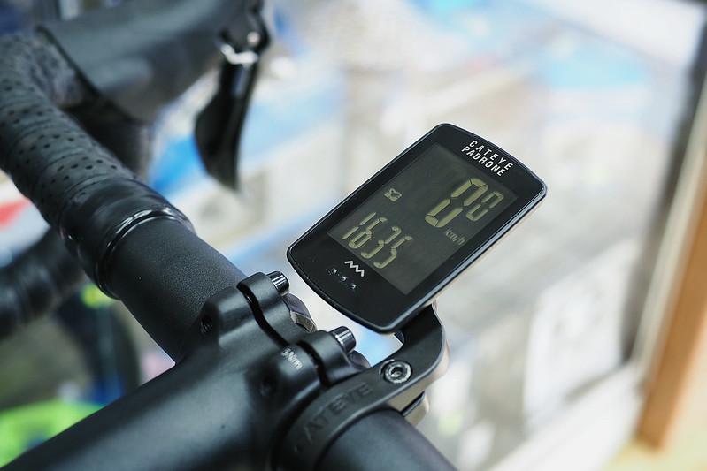 Đồng hồ Cateye Padrone CC-PA100W(kèm giá đua dài)