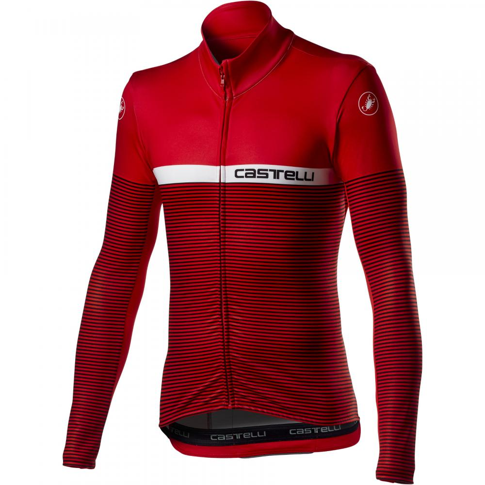 Áo nỉ Castelli Marinaio ( màu đỏ)