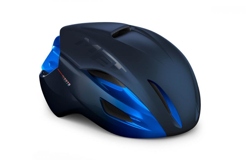 Mũ Met Manta Mips (đen xanh dương)